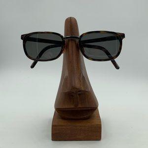 Vintage Giorgio Armani Tortoise Oval Sunglasses